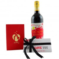 Personalized Wine Set