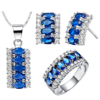 Australian Crystal Jewelry Set