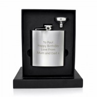 Personalized Packed Whisky Flask
