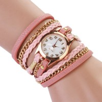 Braided Rope Wrap Bracelet Watch